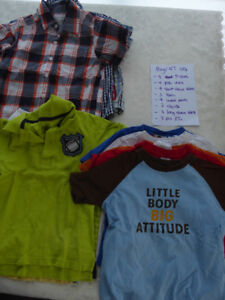 Lot of 4T boys' clothing items