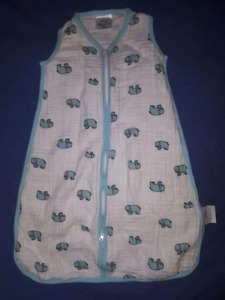 2 Baby Boy Aden & Anais Sleepsack Wearable Blankets Size 0/6mts