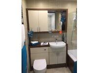 EX-DISPLAY - Utopia Furniture, WC & Basin complete