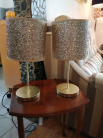 Pair table lights