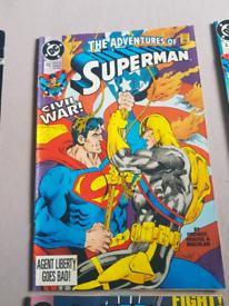 1990 onwards DC comics mint condition
