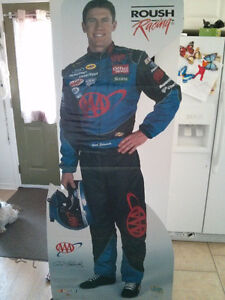 Carl Edwards 6 foot cut out / promo with shipping box Team Image