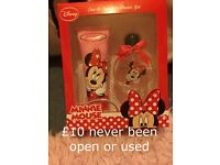 Minnie Mouse shower gel and perfume