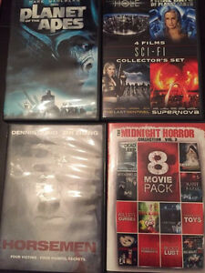 DVD MOVIE ASSORTMENT (perfect condition) $2/ea