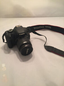 Like New! Canon, Rebel t3i EOS 600D digital camera 28-80mm lens