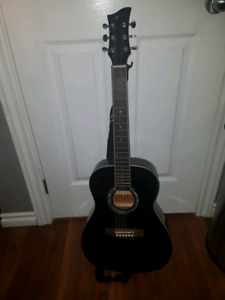 Jr jay guitar with strap