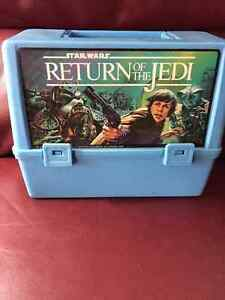 Vintage Star Wars Canadian Thermos Lunchbox Rare! Empire Strikes