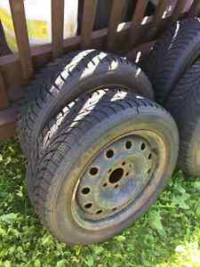 Great condition winter tires and rims!!!!