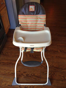 Carters Wooden High Chair