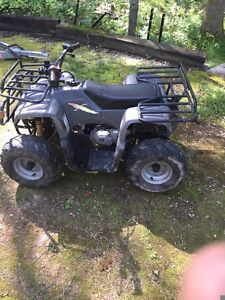 Trade quad with cash for crf50