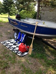 Beautiful Princecraft boat package