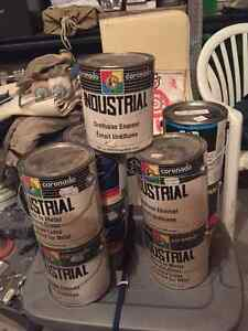 9 Gallons Paint Bold Colours (red, yellow, blue) factory mixed