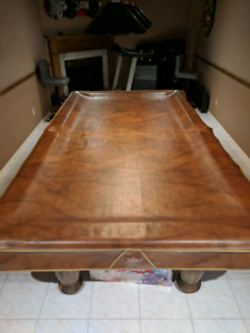 Dufferin pool table