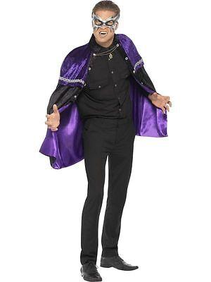 Men's Phantom Masquerade Vampire Fancy Dress Cape Costume - Masquerade Vampir Kostüme