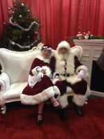 Real Bearded Santa and Mrs Claus (not bearded!)