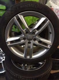 Audi a6 s line alloys