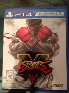Sealed/scellé Street fighter 5/v contre overwatch