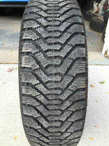 Goodyear Nordic Winter Tires  P195/65R15  with Rims London Ontario image 2
