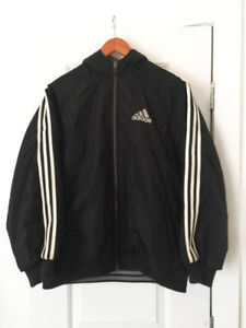 XL - Vintage ADIDAS Reversible Bomber Jacket (Fall&Winter)