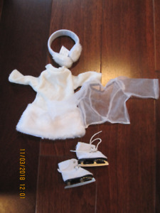 "Figure Skating and Snowboarding outfits for your 18"" doll"