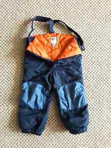 Blue Old Navy Ski Pants - size 3T - good condition