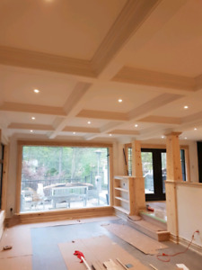 Coffered Ceiling | Carpentry and Woodworking Services in Toronto ...