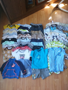 Baby boys large clothing lot 39 items