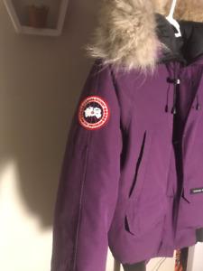 Purple Canada Goose for women