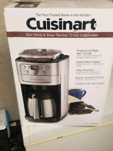 Cusinart Thermal 12 cup coffee maker