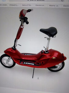 WANTED E-SCOOTER must run and drive!