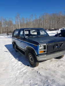 1983 Bronco 1. Low Kms.