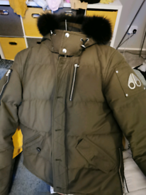Moose Knuckles 3Q Padded Fur Jacket Army green perfect condition