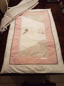 Literie pour bassinette de bébé [Libellule] Fille