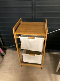 SOLD Laundry storage bin Bamboo