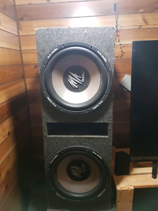 2 12Inch MA Audio Subwoofers