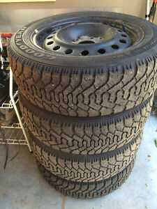 P205 / 55 / R16 Goodyear Nordic Tires