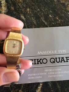 Ladies Seiko Quartz watch