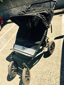 MOUNTAIN BUGGY ELITE DOUBLE EXTENDED CANOPY