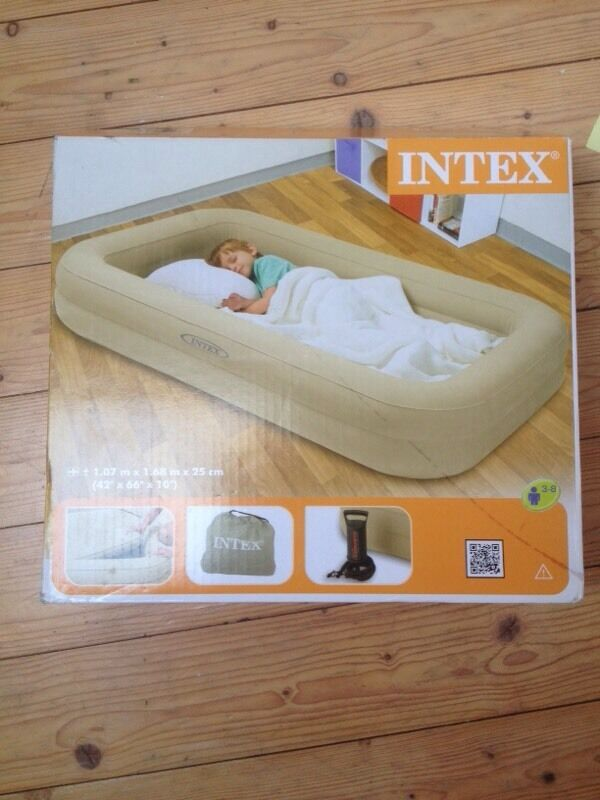 Inflatable Travel Cot Bed