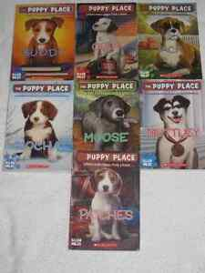 THE PUPPY PLACE - CHAPTERBOOKS - NICE SELECTION - CHECK IT OUT!