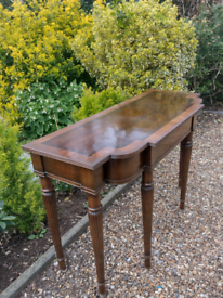 Solid wood handmade console table 1940