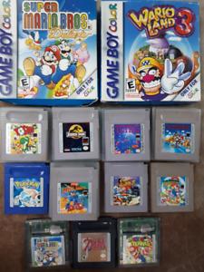 Sélection de jeux de GAMEBOY/DS/3DS