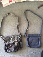 forever 21 and garage purse!