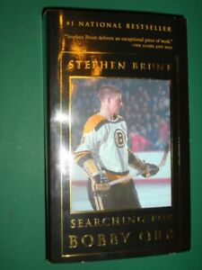 SEARCHING FOR BOBBY ORR- Stephen Brunt & Bobby Orr-1st Edition