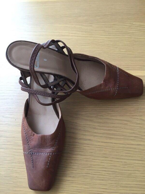 Ladies Clarks shoes size 6