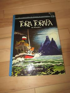 Album BD EO 1973 Spirou et Fantasio Tora Torapa en très bon état