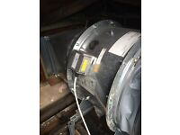 Extraction fan motor repairs and replacements