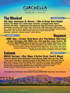 VIP Coachella music fest tickets weekend 2