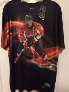 OVECHKIN 8 CAPITALS NHL Performance Shirt size L NEW