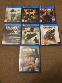 PS4 COD GAMES